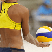 Beachvolleyball-Hallen